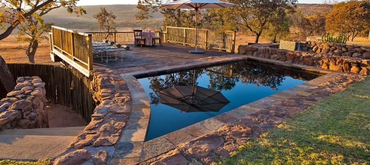 Ekuthuleni-Lodge-Welgevonden-pool-exterior