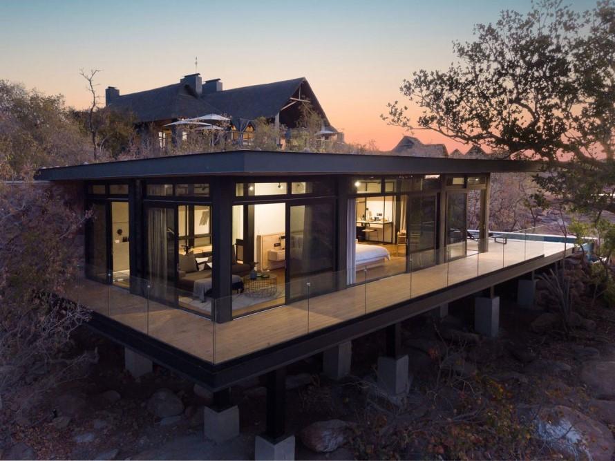 Fifty Seven Waterberg - Honeymoon suite exterior