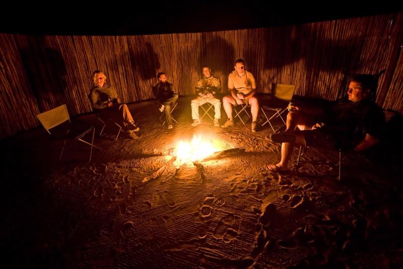 nThambo-Tree-Camp-Campfire
