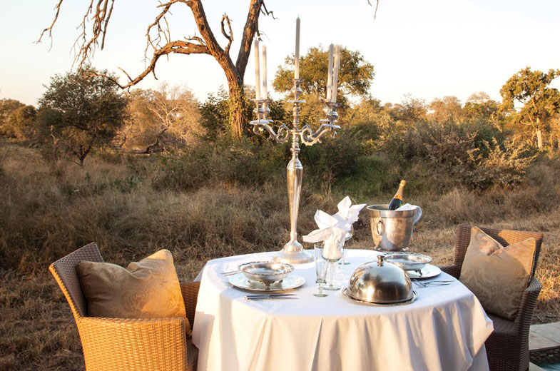 romantic-honeymoon-dinner-in-the-timbavati-bush