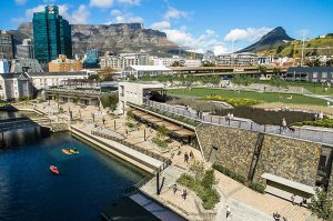 Cape Town - Canal-District-Batttery Park at V&A Waterfront
