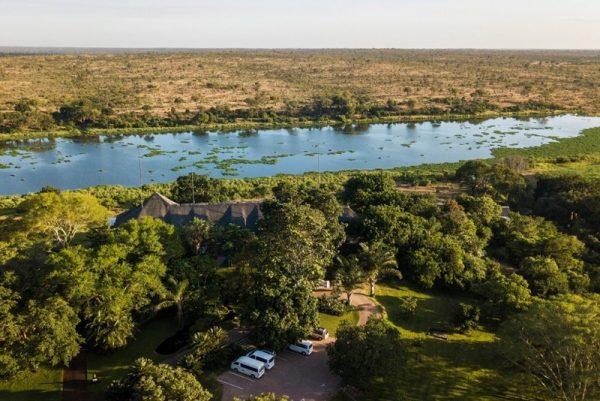 Buhala Lodge bordering Kruger Park