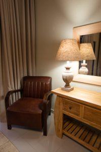 kwenga safari lodge, room interior