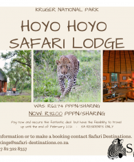 HOYO HOYO SAFARI LODGE voucher deal