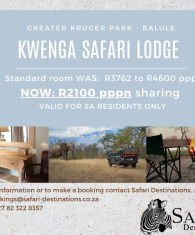 Kwenga Safari Lodge, Balule