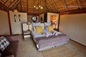 mangwa valley tent interior