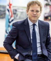 UK Transport secretary- grant shapps - gitshapps